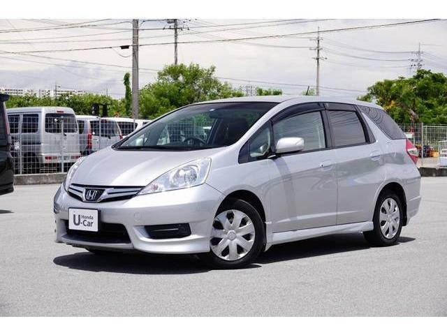 沖縄県豊見城市の中古車ならフィットシャトル 15X ナビ付