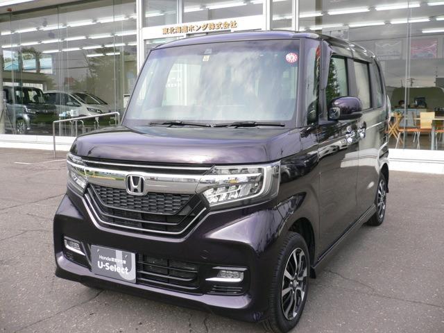 ホンダ N-BOXカスタム G・Lホンダセンシング LEDライト ETC エンジンスター