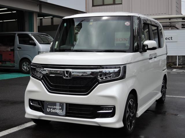 ホンダ N-BOXカスタム G・Lターボホンダセンシング インターナビ LED ホンダセ