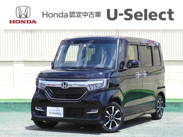 ホンダ N-BOXカスタム G・EXホンダセンシング ワンオーナー メモリーナビ 衝突軽