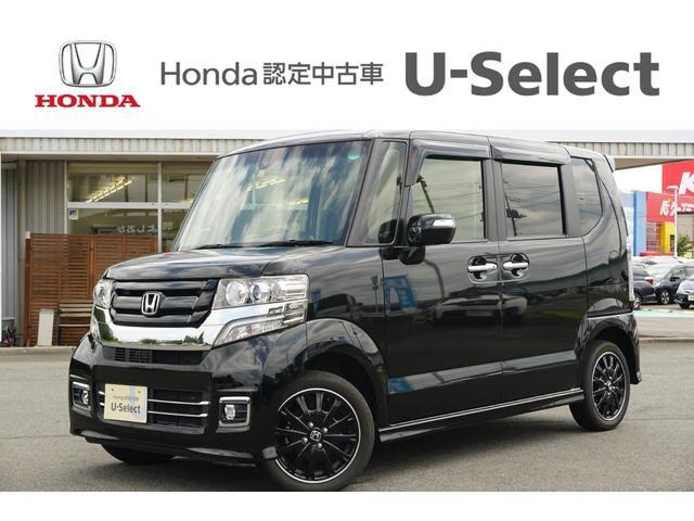 ホンダ N-BOXカスタム G ターボSSブラックスタイルパッケージ シートヒーター 両