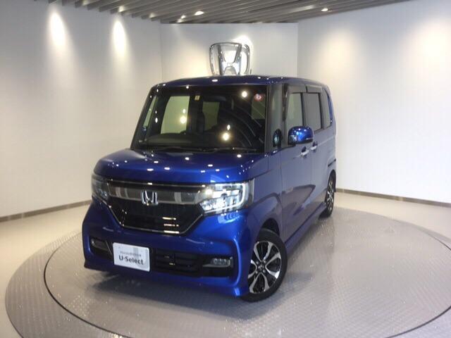 ホンダ N-BOXカスタム G・EX メモリーナビ リアカメラ ETC LED