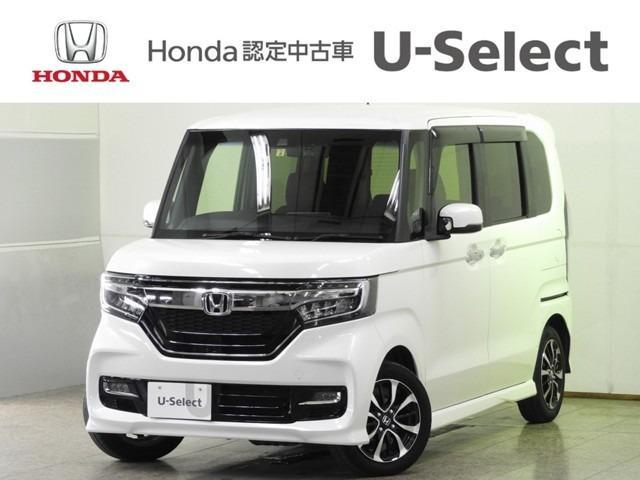 ホンダ N-BOXカスタム G・EX 衝突軽減B Mナビ LEDヘッドライト
