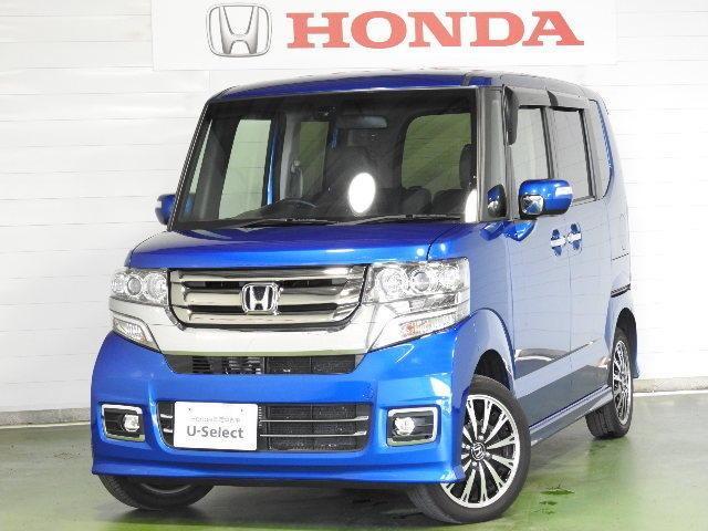 ホンダ N-BOXカスタム G ターボSSパッケージ CTBA ETC 4WD