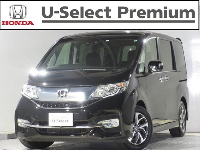 ホンダ ステップワゴンスパーダ スパーダアドバンスパッケージβ 2列目ベンチシート(8人乗りシート) ワンオーナー 走行6千キロ 車検…令和3年7月まで  ナビ リアカメラ Bluetooth 両側電動スライドドア 「U-Select Premium」対象車両