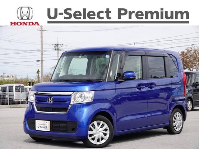 N-BOX(沖縄 中古車) 色:ブリリアントスポーティブルー・メタリック 価格:149.8万円 年式:2018(平成30)年 走行距離:0.4万km