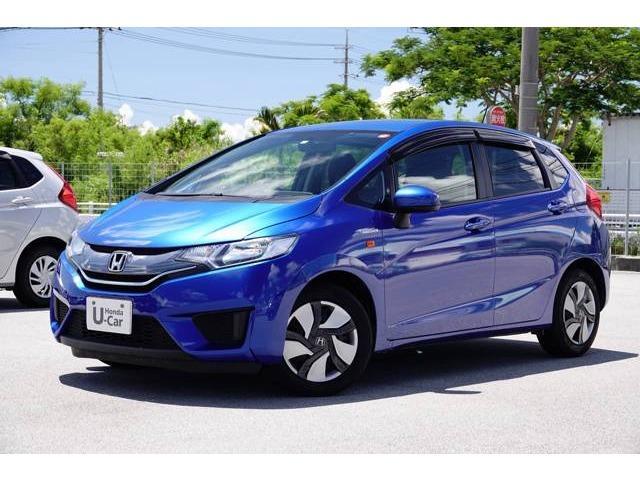 沖縄県の中古車ならフィットハイブリッド ベースグレード ナビ・TV・リアカメラ・ETC付