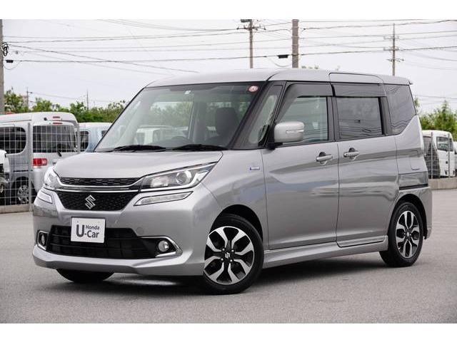沖縄県の中古車ならソリオ 1.2 ハイブリッド MX