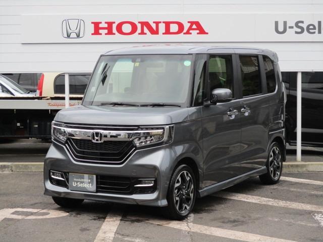 ホンダ N-BOXカスタム G・Lターボホンダセンシング 当社社用車 ナビ Rカメラ フ