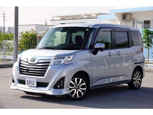 沖縄の中古車 トヨタ ルーミー 車両価格 146.8万円 リ済別 2017(平成29)年 2.4万km ブライトシルバーM