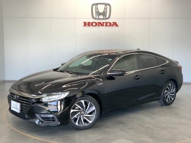 EX・ブラックスタイル Honda SENSING ブラインドスポットインフォメーション Honda インターナビ+リンクアップフリー+ETC2.0車載器〈ナビゲーション連動〉18インチアルミホイール(1枚目)