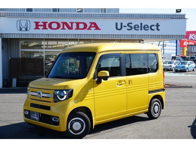 ホンダ N-VAN+スタイル ファン・ホンダセンシング 当社デモカー 純正8インチナビ