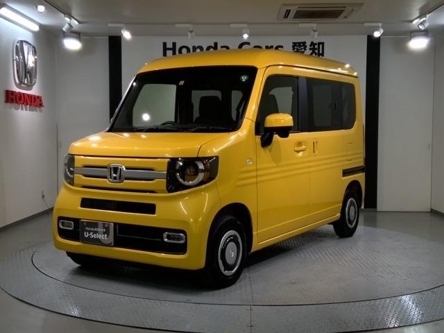 ホンダ N-VAN+スタイル ファン・ホンダセンシング 当社試乗車 新車保証継承 禁煙 フルセグ