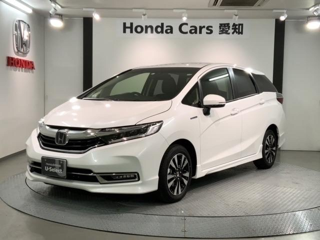ホンダ ハイブリッドX ホンダセンシング 試乗車 新車保証 シートヒーター ナビ LED