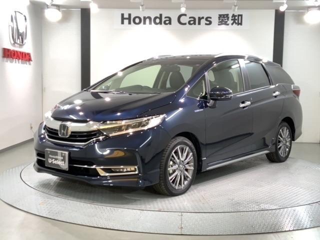 ホンダ ハイブリッドZ ホンダセンシング 新車保証 試乗車 地デジ CD録音 LEDライト