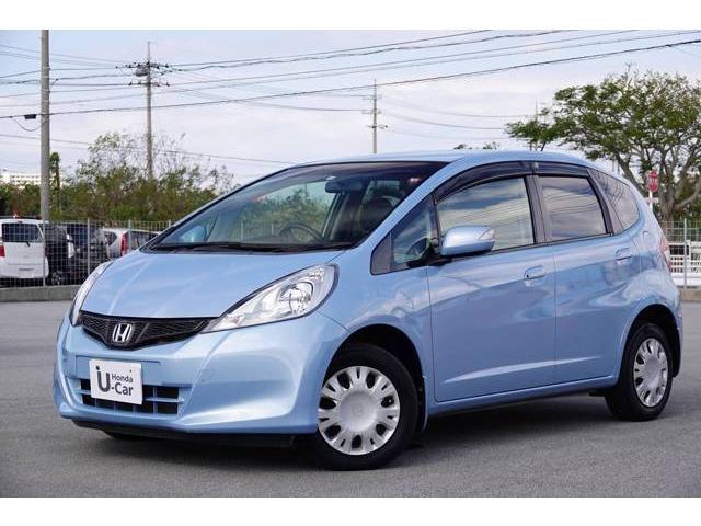 沖縄県の中古車ならフィット 13G・スマートセレクション ファインスタイル ナビ付