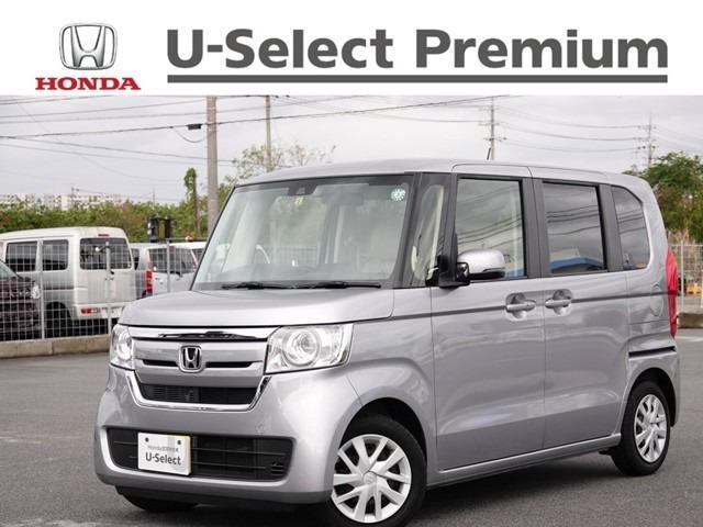 沖縄の中古車 ホンダ N-BOX 車両価格 134.8万円 リ済別 2020(令和2)年 0.6万km ルナシルバーM