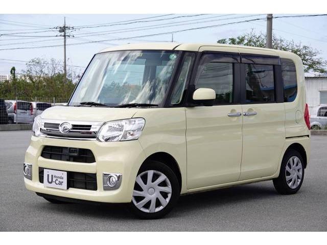 沖縄県の中古車ならタント Xターボ SAII ナビ付