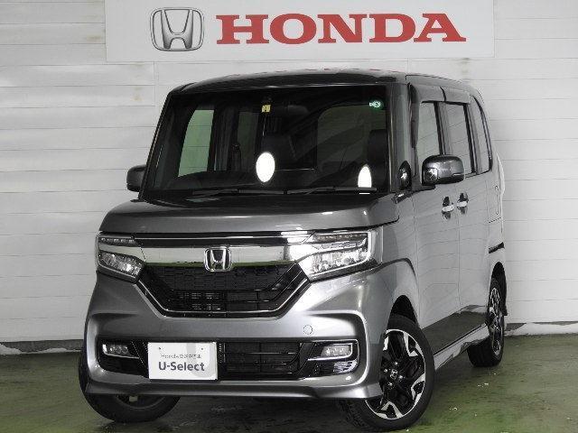 ホンダ N-BOXカスタム G・Lターボホンダセンシング サポカーS ETC 4WD