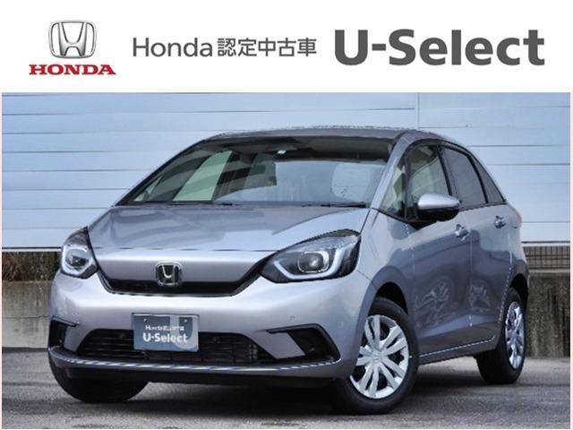 フィット(ホンダ) ベーシック 登録済未使用車 禁煙車 Honda SENSING キーレス クルーズコントロール 中古車画像