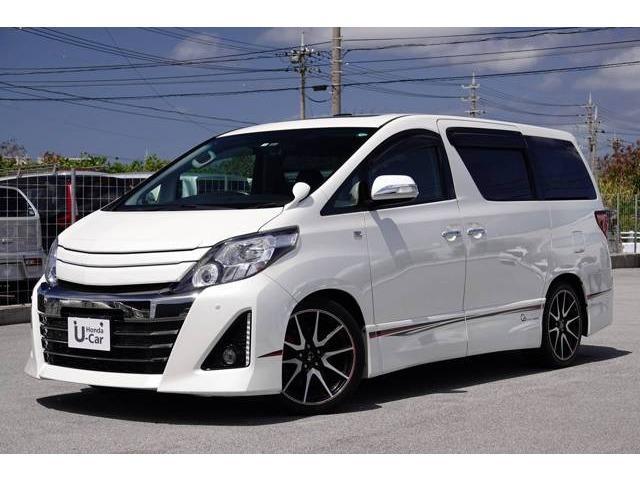 沖縄県の中古車ならアルファード 240S G's ナビ・TV・リアカメラ・ETC付