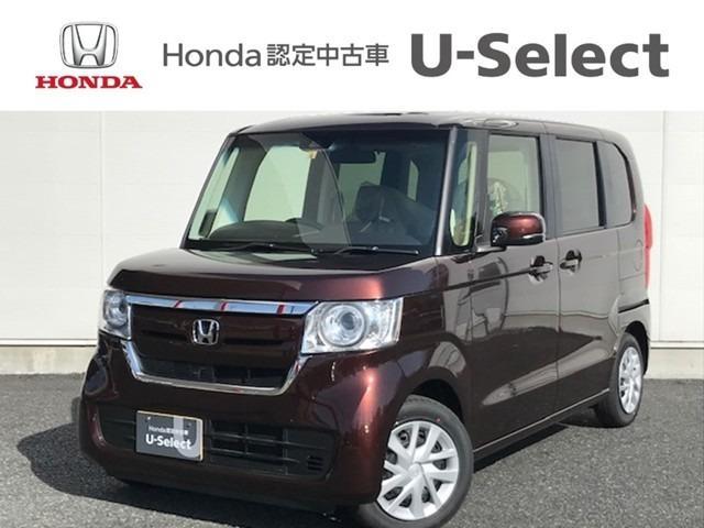 ホンダ N-BOX G・Lホンダセンシング 届出済未使用車 純正マット