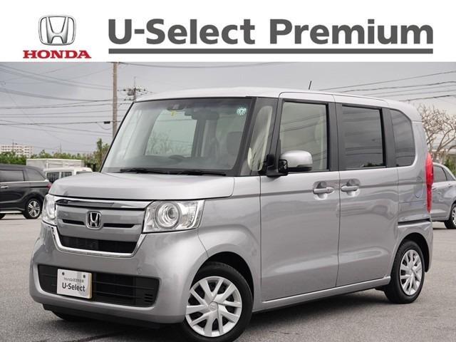 沖縄の中古車 ホンダ N-BOX 車両価格 162.8万円 リ済別 2020(令和2)年 1.2万km ルナシルバーM