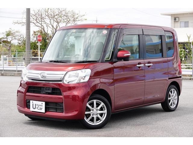 沖縄県の中古車ならタント G SA オーディオ付