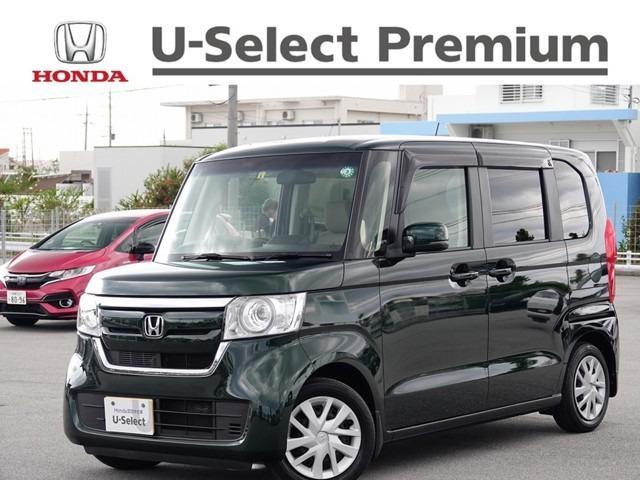 沖縄県の中古車ならN-BOX G・EX ナビ付