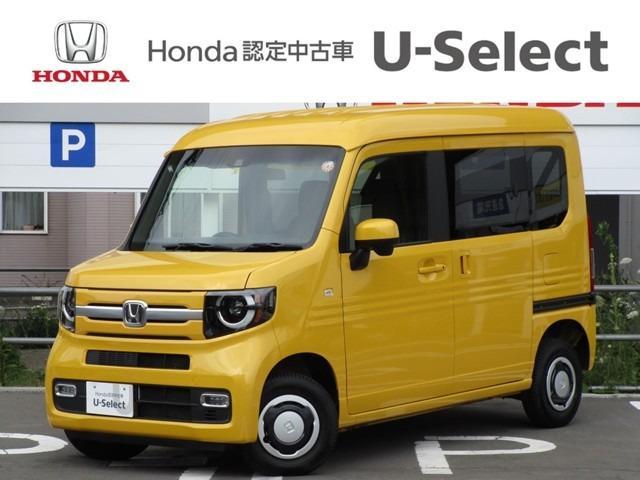 ホンダ N-VAN+スタイル ファン・ホンダセンシング 4WD 試乗車アップ ワンオーナー 純正ナビ