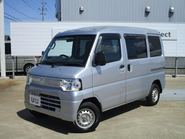 三菱 ミニキャブバン CD 4WD エアコン パワステ エアバッグ オートマ