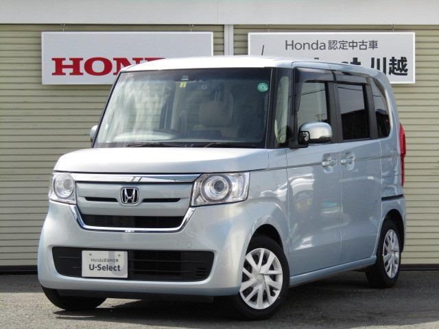 ホンダ N-BOX G・Lターボホンダセンシング ナビ・両側電動スライドドア・タイヤ新品
