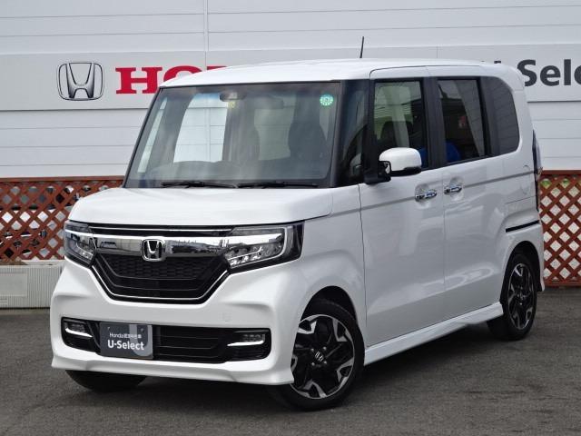 ホンダ N-BOXカスタム G・Lターボホンダセンシング ワンオーナー車 純正ナビ ETC車載器