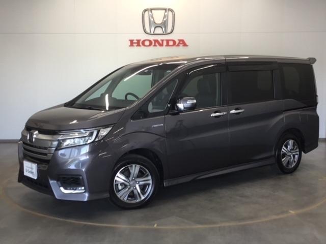 ホンダ e:HEVスパーダ G・EX ホンダセンシング 当社試乗車9インチナビリア席モニター