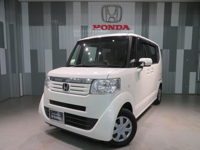 ホンダ N-BOX G・Lパッケージ ワンオーナー車 ギャザスメモリーナビ