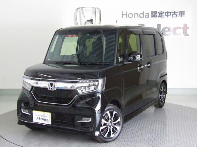 ホンダ N-BOXカスタム G・EXホンダセンシング 両側電動スライドドア ナビ Rカメラ
