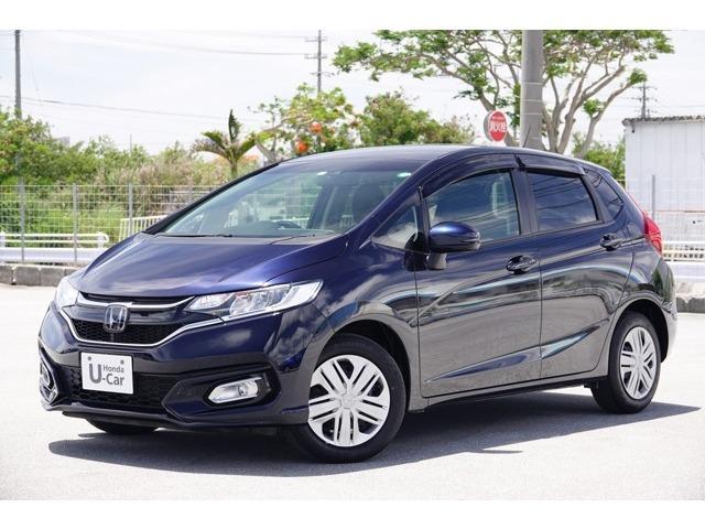 沖縄県豊見城市の中古車ならフィット 13G・L ホンダセンシング 衝突軽減ブレーキ付