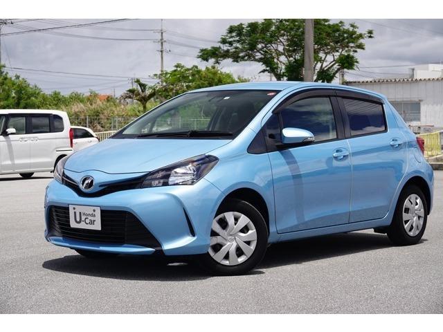 沖縄県の中古車ならヴィッツ F ナビ付