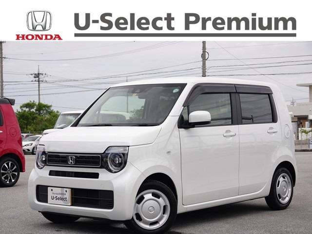 沖縄の中古車 ホンダ N-WGN 車両価格 143.8万円 リ済別 2020(令和2)年 0.2万km プラチナホワイトパール