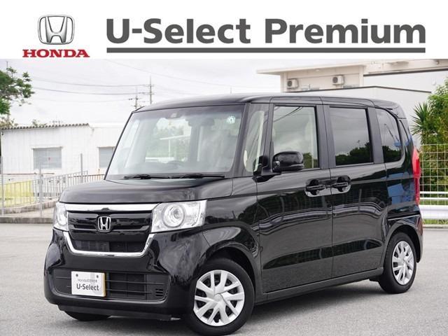 沖縄の中古車 ホンダ N-BOX 車両価格 172.8万円 リ済別 2019(平成31)年 1.7万km クリスタルブラック