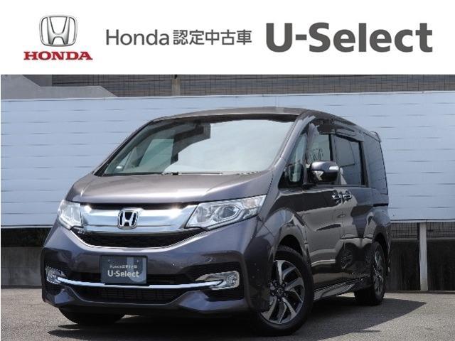 ホンダ スパーダアドバンスパッケージβ Honda SENSING クルーズコントロール 衝突被害軽減ブレーキ 両側電動スライドドア インターナビ DVD再生 フルセグTV バックカメラ ETC LEDヘッドライト アルミホイール