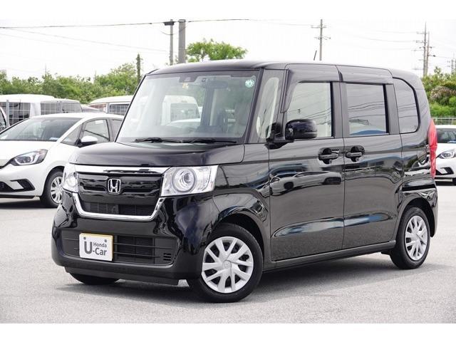 沖縄県の中古車ならN-BOX Gホンダセンシング デモカーアップ・衝突軽減ブレーキ付
