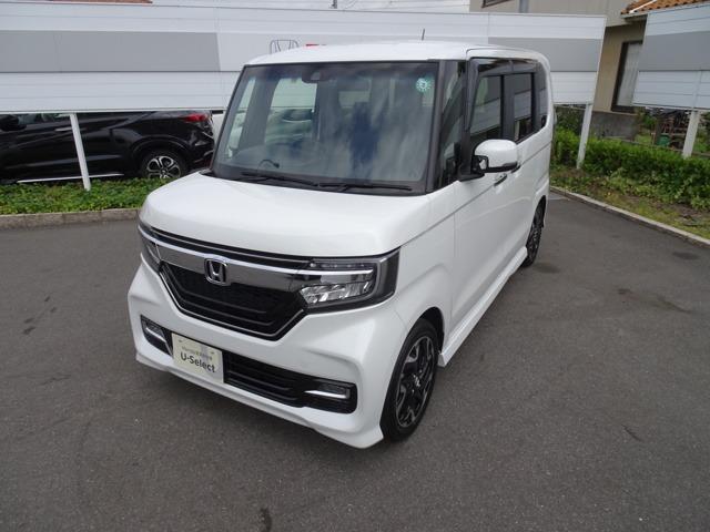 ホンダ N-BOXカスタム G・EXターボホンダセンシング 当社デモカー