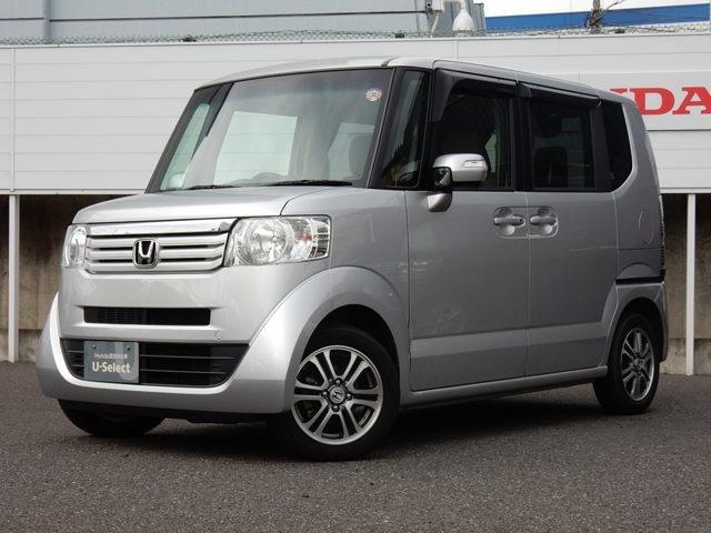 ホンダ N-BOX+ G・ターボLパッケージ 認定中古車・クルコン・アルミ・PSD・HID