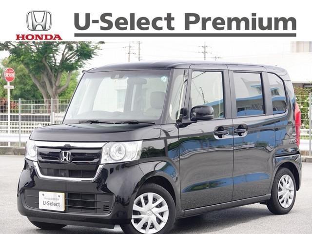 沖縄の中古車 ホンダ N-BOX 車両価格 152.8万円 リ済別 2020(令和2)年 0.5万km クリスタルブラック