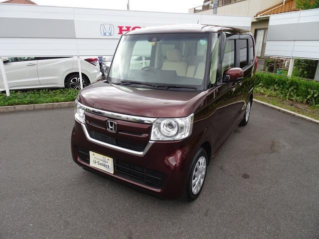 ホンダ G・Lホンダセンシング 純正7インチナビ+社外シートカバー装着車