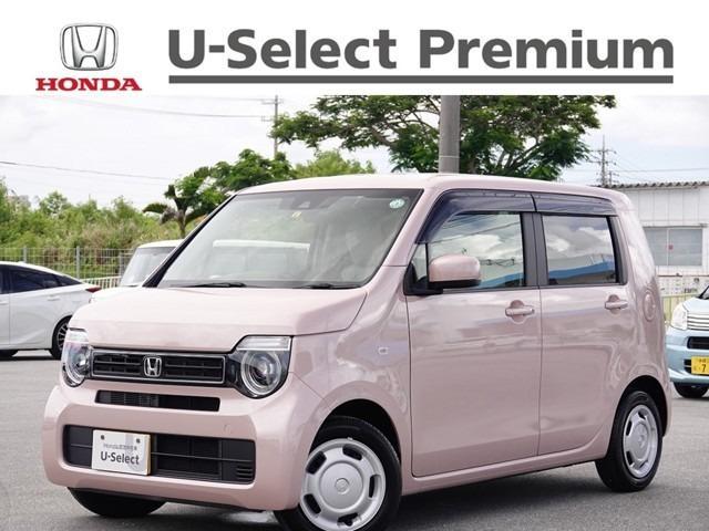沖縄の中古車 ホンダ N-WGN 車両価格 143.8万円 リ済別 2020(令和2)年 0.2万km ピーチブロッサムp