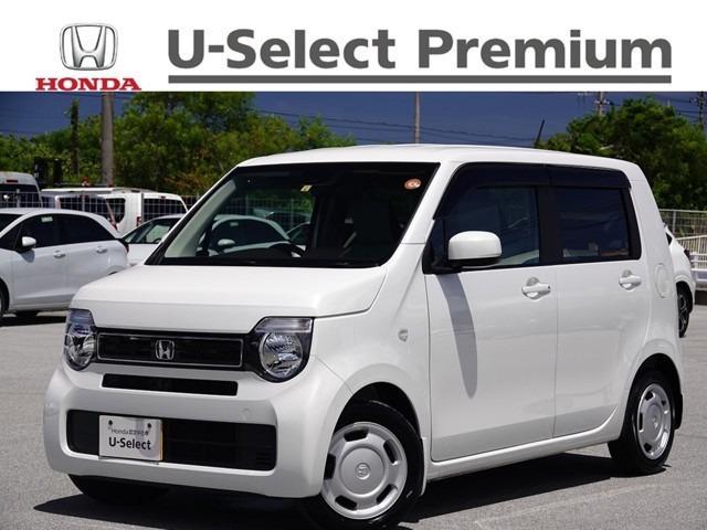 沖縄の中古車 ホンダ N-WGN 車両価格 143.8万円 リ済別 2020(令和2)年 0.6万km プラチナホワイトパール