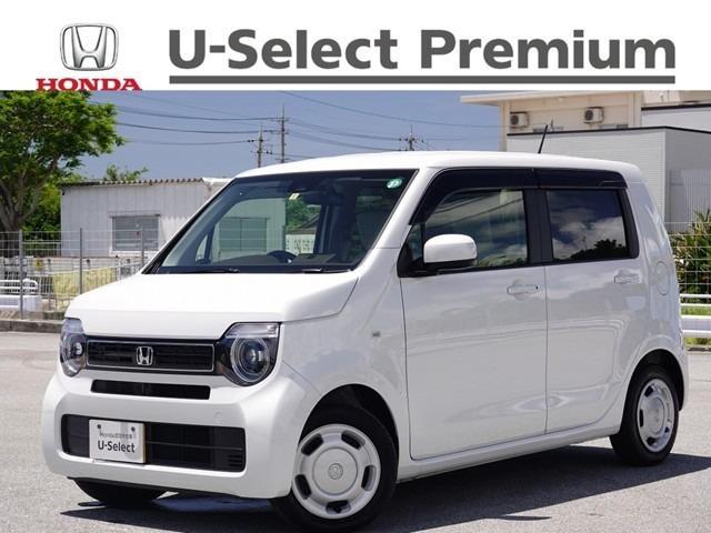 沖縄の中古車 ホンダ N-WGN 車両価格 143.8万円 リ済別 2020(令和2)年 0.5万km プラチナホワイトパール