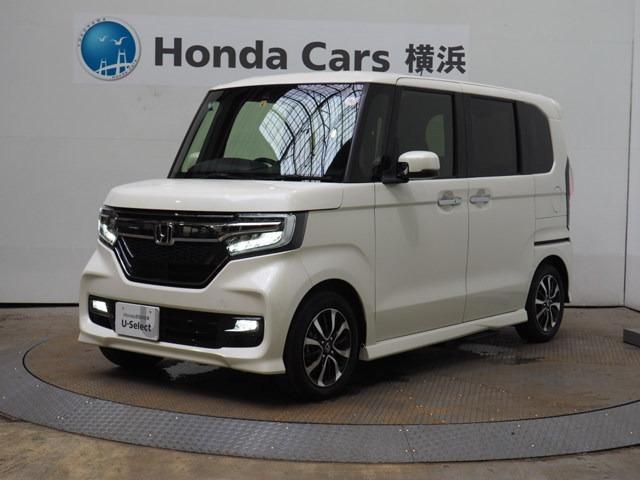 ホンダ N-BOXカスタム G・EXホンダセンシング ドラレコ助手席スーパースライドシート